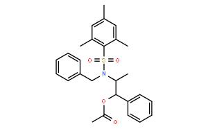 Acetic Acid (1S,2R)-2-[N-Benzyl-N-(mesitylenesulfonyl)amino]-1-phenylpropyl Ester [Reagent for double aldol reaction] 乙酸(1S,2R)-2-[N-苄基-N-(三甲苯基磺酰)氨基]-1-苯基丙酯[交叉醇醛反应用试剂]