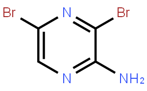 2-Amino-3,5-dibromopyrazine