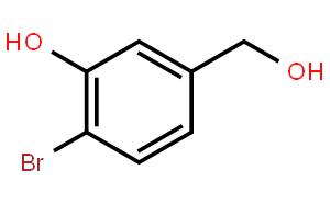 2-溴-5-(羟甲基)苯酚