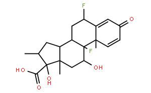 (6a,11b,16a,17a)-6,9-Difluoro-11,17-dihydroxy-16-methyl-3-oxoandrosta-1,4-diene-17-carboxylic acid