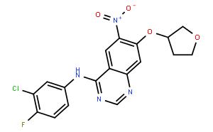 4-Quinazolinamine,N-(3-chloro-4-fluorophenyl)-6-nitro-7-[[(3S)-tetrahydro-3-furanyl]oxy]-