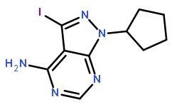 1-cyclopentyl-3-iodo-1H-pyrazolo[3,4-d]pyrimidin-4-amine