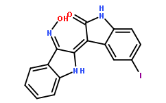 5-Iodo-indirubin-3'-monoxime