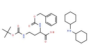 N-苄氧羰基-N'-叔丁氧羰基-L-2,4-二氨基丁酸二环己胺盐
