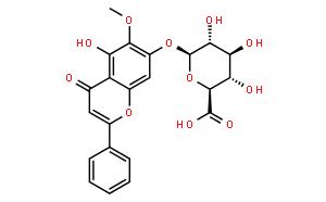 千层纸素A苷,千层纸素A-7-0-β-D-葡萄糖醛酸苷