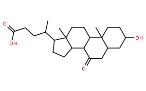3α-羟基-7-氧代-5β-胆烷酸