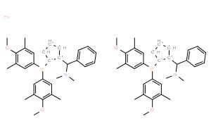 (S,S)-(-)-2,2'-双[-(N,N-二甲胺苯基甲基-1,1'-双二(3,5-二甲基-4-甲氧基苯基)磷]二茂铁