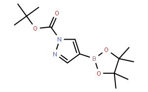 1-Boc-吡唑-4-硼酸频哪醇酯