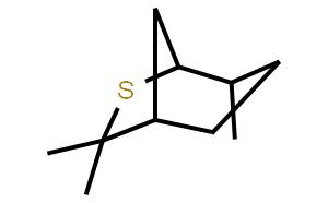 (1R,4R,5R)-4,7,7-Trimethyl-6-thiabicyclo[3.2.1]octane  (1R,4R,5R)-4,7,7-三甲基-6-硫代二环[3.2.1]辛烷