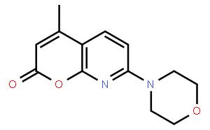 4-甲基-7-吗啉基-8-氮杂香豆素