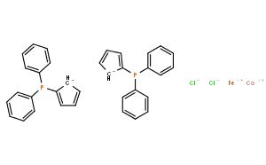 二氯[1,1'-双(二苯基膦)二茂铁]钴(II)