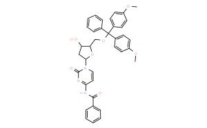 N4-苯甲酰基-5'-O-(4,4'-二甲氧基三苯基)-2'-脱氧胞苷