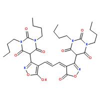 双(1,3-二巴比妥酸)-三次甲基氧烯洛尔