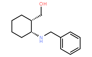 (-)-cis-2-Benzylaminocyclohexanemethanol  (-)-顺-2-苯甲氨基环己烷甲醇