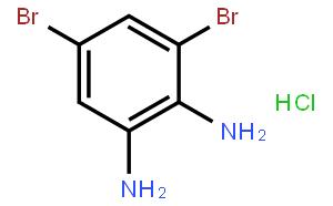 3, 5-二溴-1, 2-苯二胺一盐酸盐[以气相色谱电子俘获检测器硒测定用灵敏试剂]