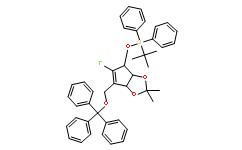 (((3aR,4R,6aR)-5-氟-2,2-二甲基-6-((甲苯磺酰氧基)甲基)-4,6a-二氢-3aH-环戊二烯并[d][1,3]二氧杂环戊烯-4-基)氧基)二苯基硅烷