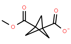 双环[1.1.1]戊烷-1,3-二羧酸, 1-甲酯