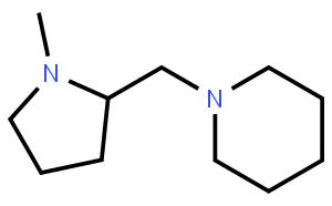 (S)-(-)-1-Methyl-2-(1-piperidinomethyl)pyrrolidine  (S)-(-)-1-甲基-2-(1-哌啶基甲基)吡咯烷