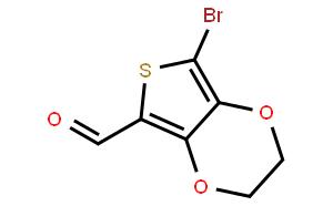 7-Bromo-2,3-dihydrothieno[3,4-b][1,4]dioxine-5-carbaldehyde