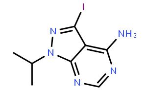 3-Iodo-1-isopropyl-1H-pyrazolo[3,4-d]pyrimidin-4-amine