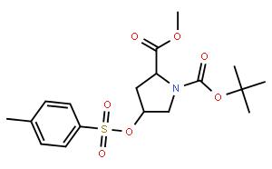 Boc-trans-4-Tosyloxy-L-proline methyl ester