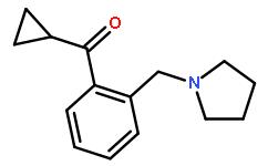 CYCLOPROPYL 2-(PYRROLIDINOMETHYL)PHENYL KETONE