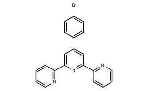 """4'-(4-溴苯基)-2,2':6',2""""-三联吡啶"""