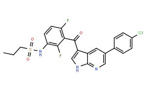 N-(3-(5-(4-Chlorophenyl)-1H-pyrrolo[2,3-b]pyridine-3-carbonyl)-2,4-difluorophenyl)propane-1-sulfonamide