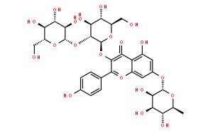 山柰酚-3-槐二糖-7-鼠李糖苷