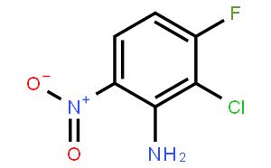 Benzenamine, 2-chloro-3-fluoro-6-nitro-