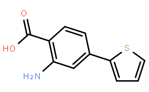 2-Amino-4-(2-thienyl)benzoic acid