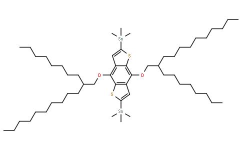 2,6-双(三甲基甲锡烷基)-4,8-双[(2-正辛基十二烷基)氧]苯并[1,2-B:4,5-B']二噻吩