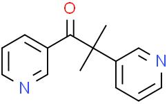 2-甲基-1,2-二-3-吡啶基-1-丙酮