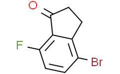 4-溴-7-氟茚酮;4-溴-7-氟-2,3-二氢-1H-茚-1-酮