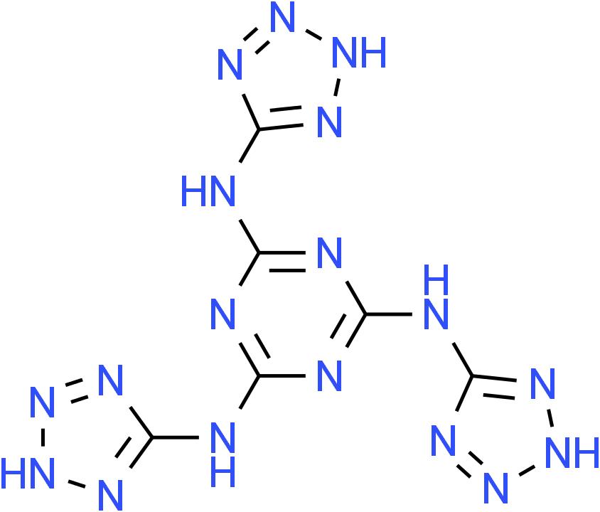 N2,N4,N6-tri(2H-tetrazol-5-yl)-1,3,5-triazine-2,4,6-triamine