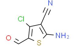 2-氨基-4-氯-3-氰基-5-甲酰基噻吩