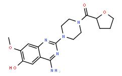 [4-(4-氨基-6-羟基-7-甲氧基-2-喹唑啉基)-1-哌嗪基](四氢-2-呋喃基)甲酮