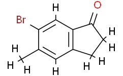 6-溴-5-甲基-2,3-二氢-1H-茚-1-酮