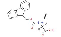 Fmoc-(R)-2-amino-2-methylpent-4-ynoic acid