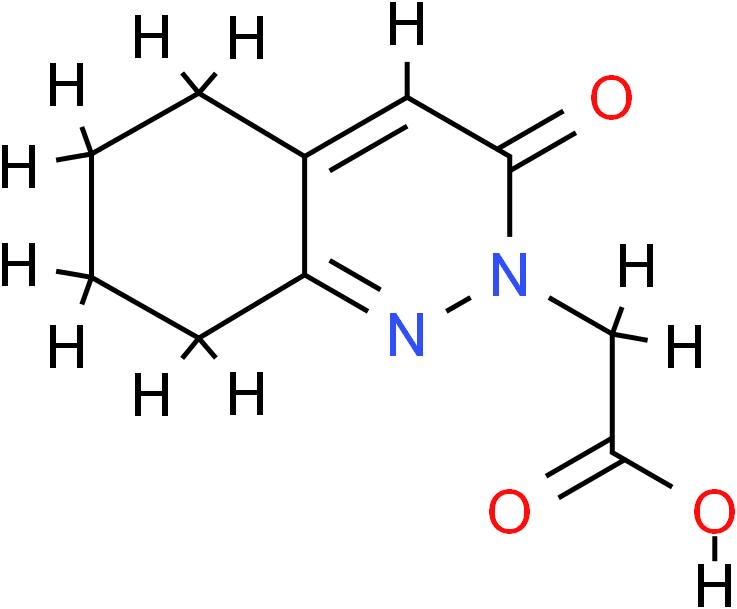 2-(3-Oxo-5,6,7,8-tetrahydrocinnolin-2(3h)-yl)acetic Acid