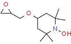 1-Piperidinyloxy, 2,2,6,6-tetramethyl-4-(2-oxiranylmethoxy)-