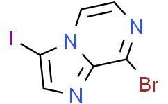 8-溴-3-碘咪唑并[1,2-a]吡嗪