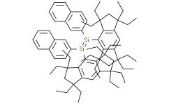 (E)-1,2-双(2-萘基)-1,2-双(1,1,3,3,5,5,7,7-八乙基-1,2,3,5,6,7-六氢二环戊二烯并苯-4-基)二硅烯