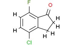 4-氯-7-氟茚酮