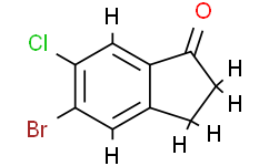 5-Bromo-6-chloro-2,3-dihydro-1H-inden-1-one