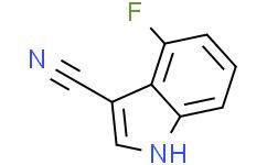 4-氟-1H-吲哚-3-甲腈