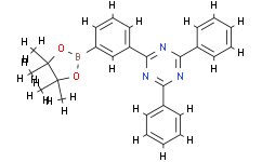 2,4-二苯基-6-[3-(4,4,5,5-四甲基-1,3,2-二氧杂环戊硼烷-2-基)苯基]-1,3,5-三嗪