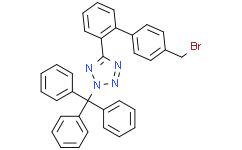 5-[4'-(溴甲基)-[1,1'-聯苯]-2-基]-2-(三苯基甲基)-2H-四氮唑