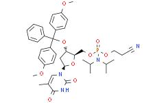 5'-O-[(二异丙基氨基)-(2-氰基乙氧基)氧磷基]-3'-O-(4,4'-二甲氧基三苯甲基)胸苷