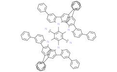 2,3,5,6-四(3,6-二苯基-9-咔唑基)-对苯二腈